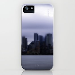 Moody city iPhone Case