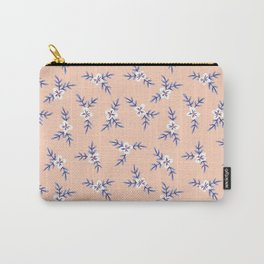 Peach Blooms Carry-All Pouch