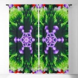 floral mandala bb Blackout Curtain