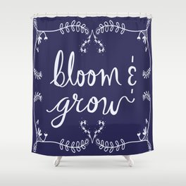 Bloom and Grow Shower Curtain