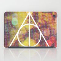 deathly hallows iPad Cases featuring Deathly Hallows by Michal