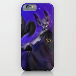 Grinning in the Dark iPhone Case