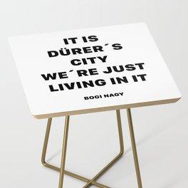 DÜRER´S CITY Side Table