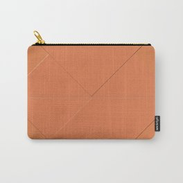 Jaffa Red Damask Carry-All Pouch