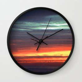 Black Gull by nite Wall Clock