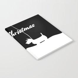 Westie White Christmas Notebook