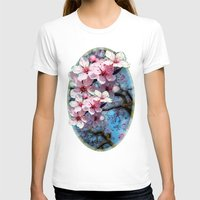 cherry blossoms T-shirts featuring Cherry Blossoms by Just Kidding