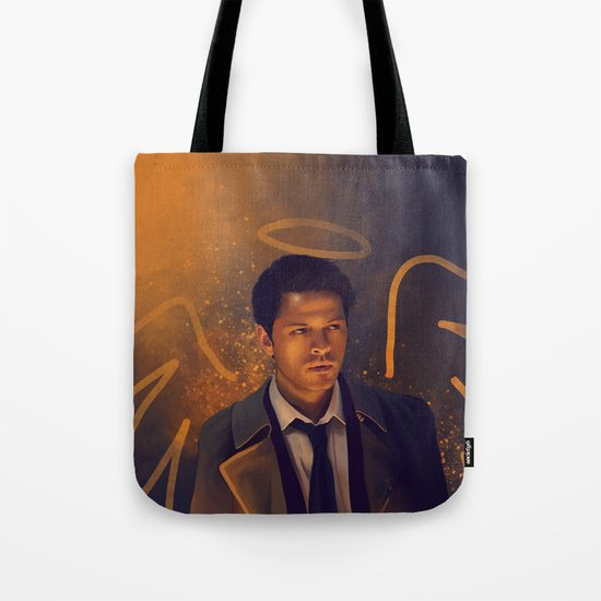 Castiel - Supernatural Tote Bag