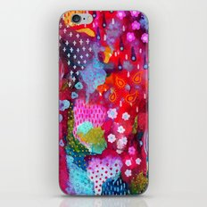 Flower Festival 2 iPhone & iPod Skin