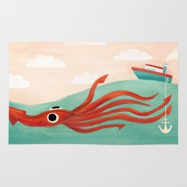Giant Squid Rug
