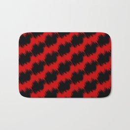 Fuzzy Patterns Bath Mat