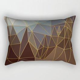 Autumn abstract landscape 2 Rectangular Pillow