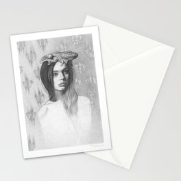 Queen Frog Stationery Cards