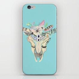Bohemian Skeleton Chic iPhone Skin