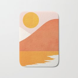Abstraction_SEASIDE Bath Mat