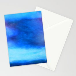 Moody blue cloud Stationery Cards
