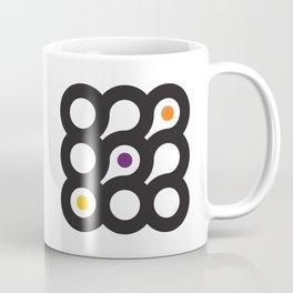 Circles 3x3 #8 Coffee Mug
