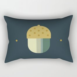 october midnight acorn Rectangular Pillow