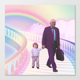 PawPaw Bernie Canvas Print