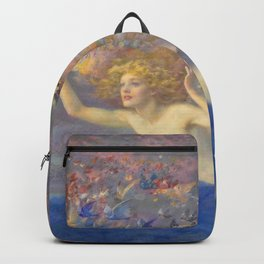 """Edward Robert Hughes (1851-1914) """"Wings of the Morning"""" Backpack"""