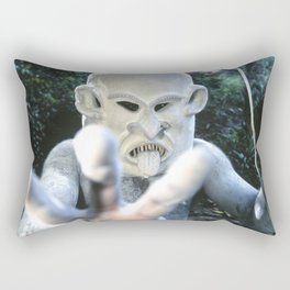 Papua New Guinea Ghost Rectangular Pillow