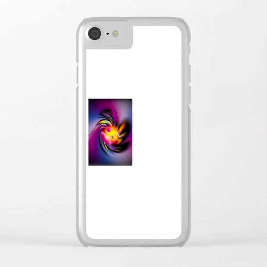 Abstract Perfection 52 Clear iPhone Case