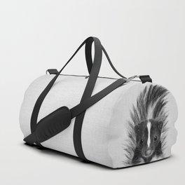 Skunk - Black & White Duffle Bag
