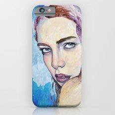 Profile in Purple Acrylic iPhone 6s Slim Case