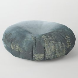 The Smell of Earth - Nature Photography Floor Pillow