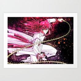 Yu Yu Hakusho   Kurama Art Print