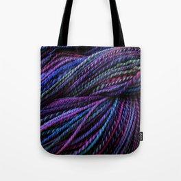 Handspun - Clematis Tote Bag