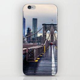 Brooklyn lines iPhone Skin