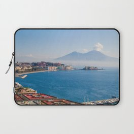 View of Naples Bay, Italy Laptop Sleeve