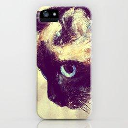 Siamese Cat iPhone Case