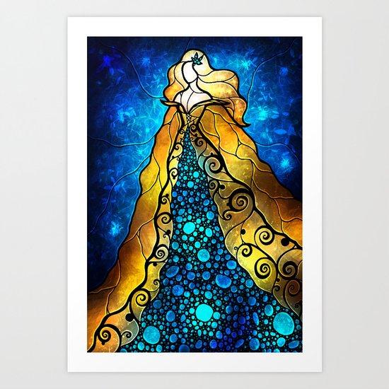 Fair Ophelia Art Print
