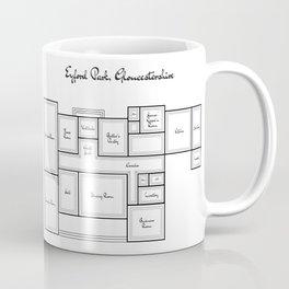 Eyford Park Plan (proposed) Coffee Mug