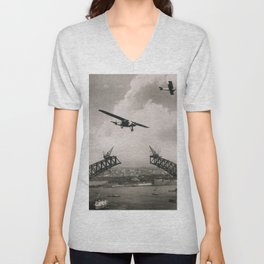 Fly high Unisex V-Neck