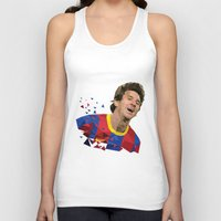 messi Tank Tops featuring Messi  by Abhikreationz