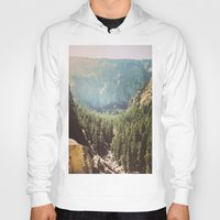 the mountains are calling Hoodies featuring The Mountains Are Calling by Madeleine Johnson