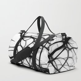 Black neurons Duffle Bag