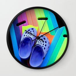 Beachy Keen! Wall Clock