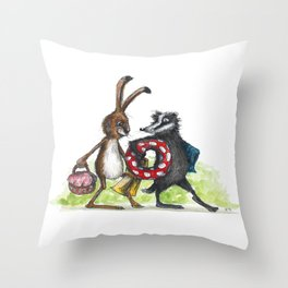 Day Out Throw Pillow
