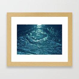 Gurgling Water Framed Art Print