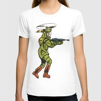 spaceship T-shirts featuring SPACESHIP TROOPER by Noughton