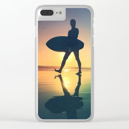 surftime Clear iPhone Case