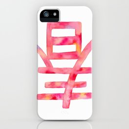 Lunar New Year Spring's Here iPhone Case