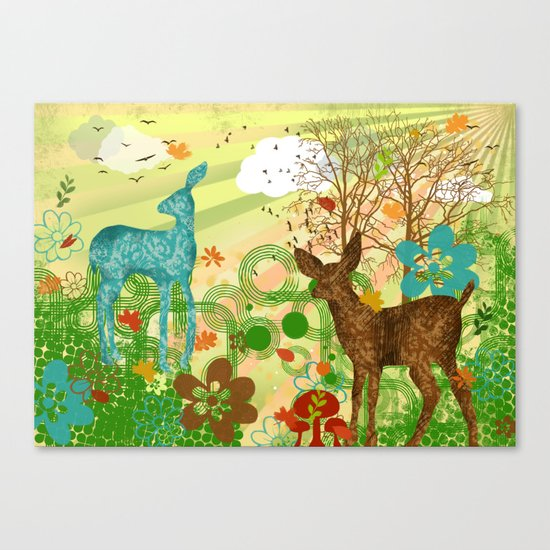 oh my dear! Canvas Print
