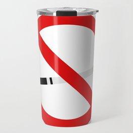 no smoking sign Travel Mug