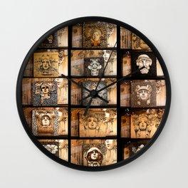 Joe's Train Station Wall Clock