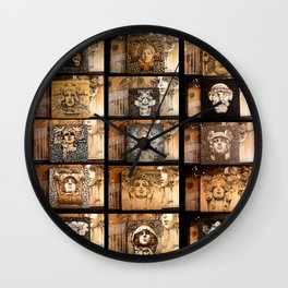 Joe's Train Station Wall Clock